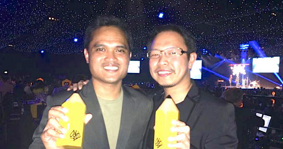 Dm9JaymeSyfu wins a Yellow Pencil at the D&AD