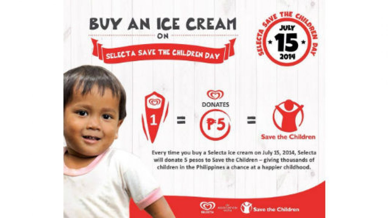 Heroes wanted: Save the Children and Selecta partner to