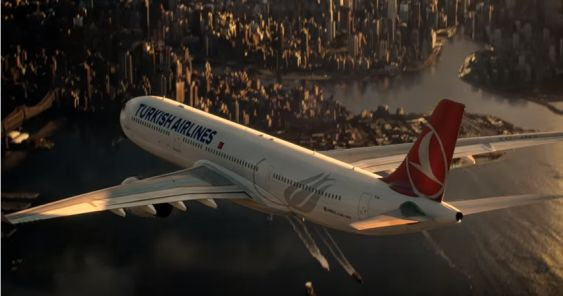 Turkish Airlines now flies to fictional destinations Metropolis and Gotham City according to their Super Bowl spots