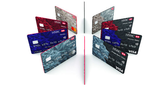 New HSBC global card design with Shift pushes boundaries of