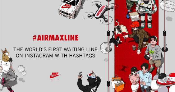 Campaign Spotlight: How PostVisual & Nike #AIRMAXLINE got