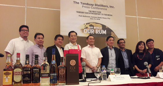 Lucio Tan's Tanduay Has Overtaken Barcadi as World's Best