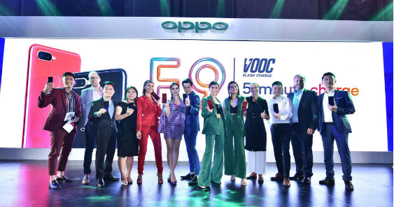 OPPO F9 elevates smartphone standard with revolutionary VOOC flash