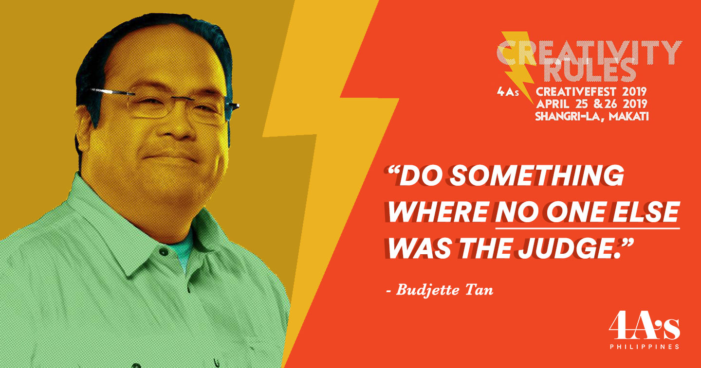 Creativefest 2019: Budjette Tan, the Writer who Broke the