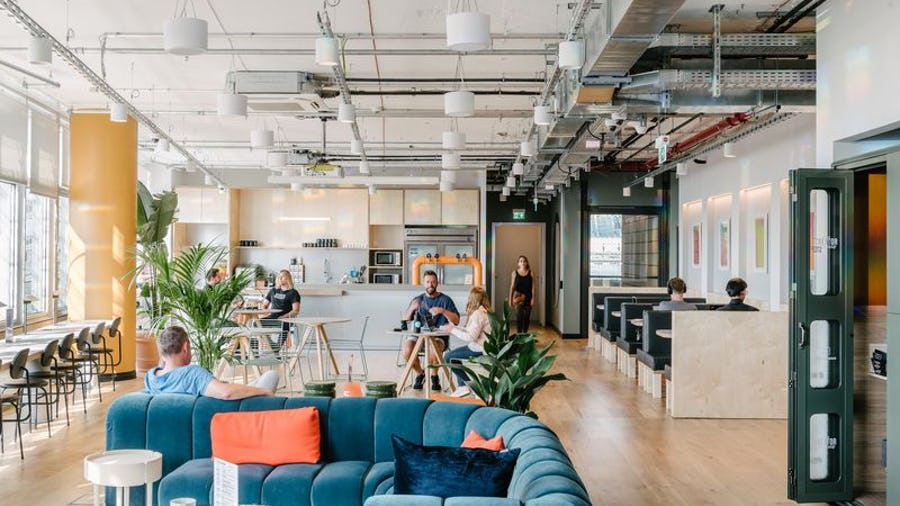 Wondrous Brand And Business Wework Philippines Launches Second Home Remodeling Inspirations Cosmcuboardxyz