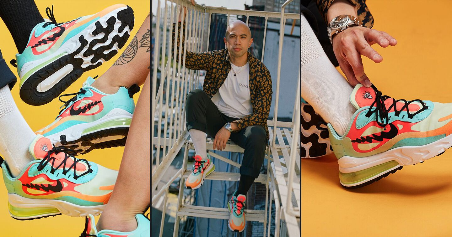Design: It's All In The Shoes — Rich Tu on The New Air Max